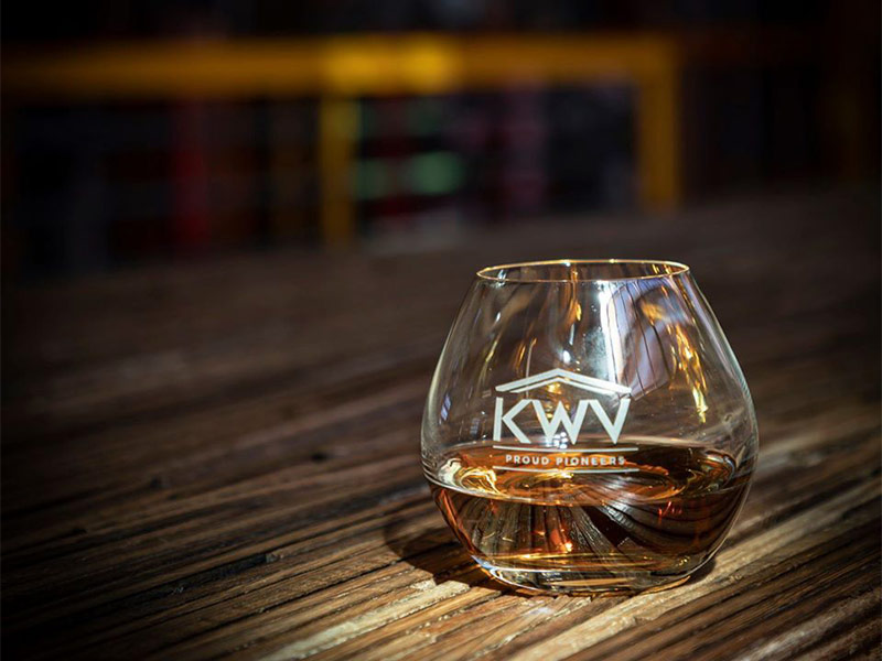 KWV Brandy to be found on Route 62