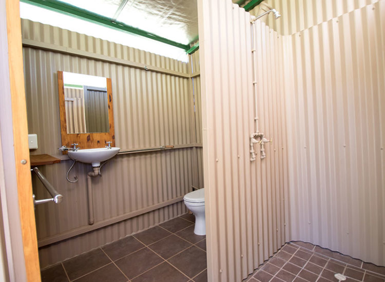 Ablution Facilities Shower